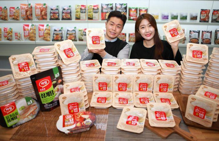 하림, 쌀밥 시장 진출…'하림 순밥' 출시