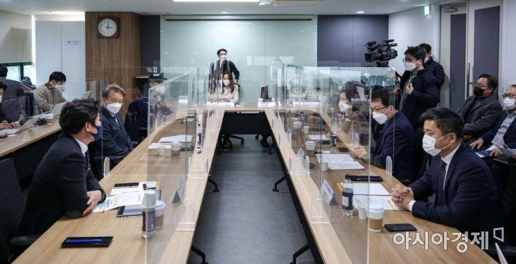 [포토]벤처업계 간담회