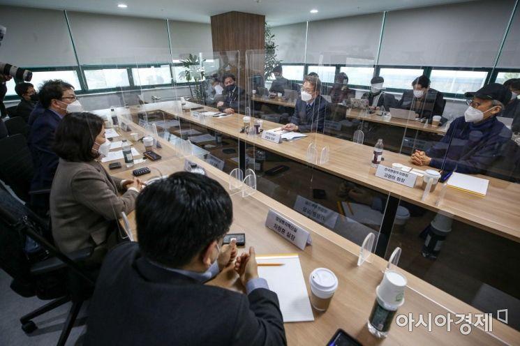 [포토]중소벤처기업부, 벤처업계 간담회
