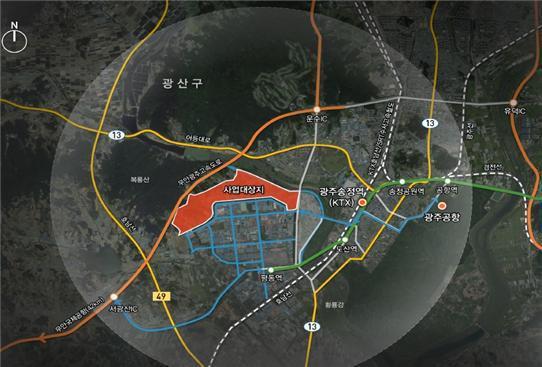 """시민단체 """"재벌 배불리는 광주 평동준공업지역 개발 멈춰야"""""""