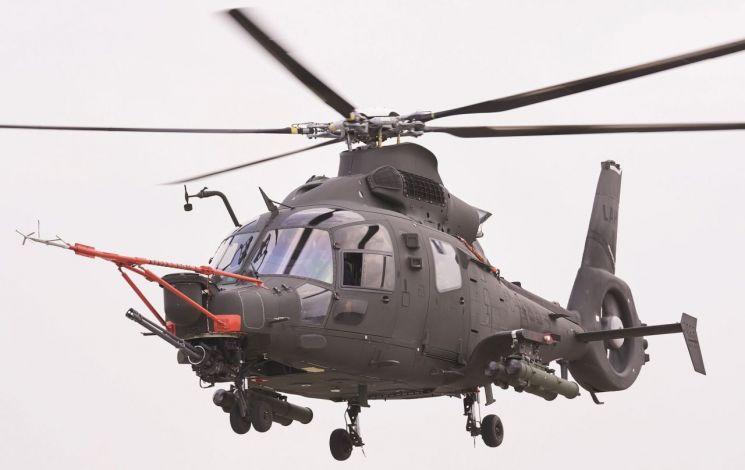 육군이 2023년 이후 유무인 복합체계로 운용할 한국형 경전투헬기 LAH. (사진제공= KAI)