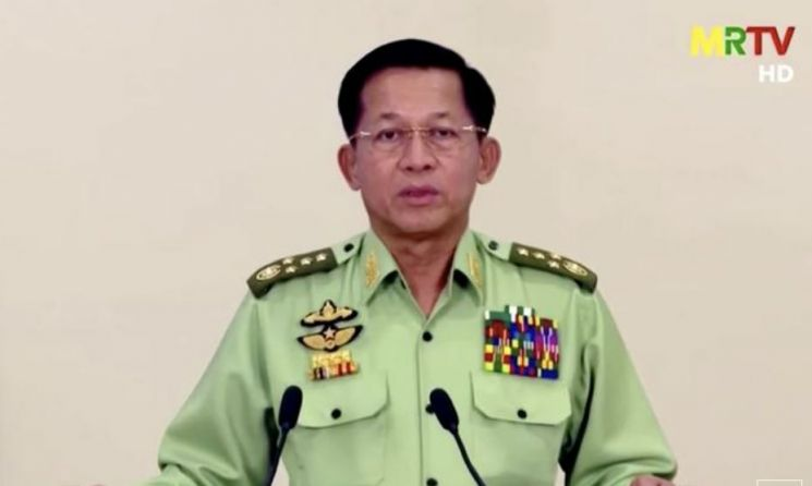 美, 미얀마 군부 10억달러 인출 시도 막아