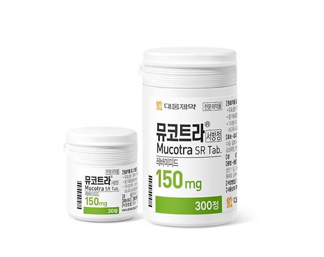 뮤코트라서방정 150mg(사진=대웅제약)