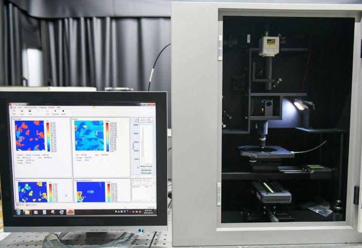 전력반도체용 SiC 소재 결함 분석 장비. 사진제공=한국전기연구원(KERI).