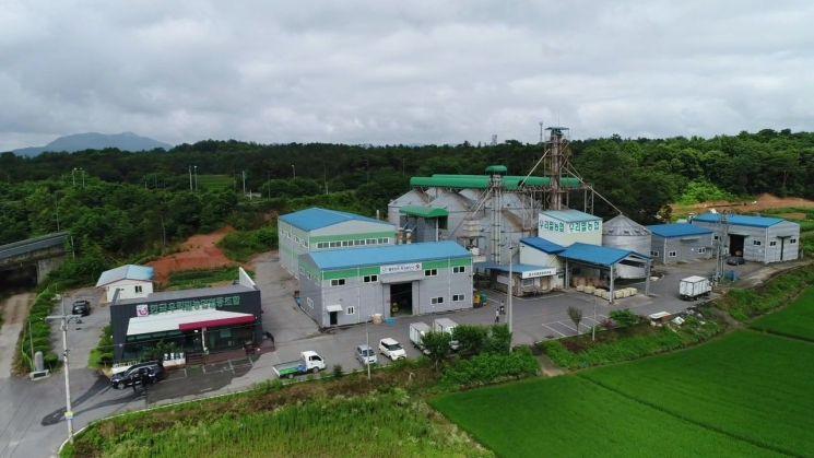 광주 광산구, 우리밀 저장시설 현대화