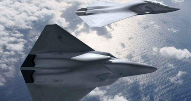 미국 6세대 전투기 F/A-XX 개념도[이미지출처=보잉사 홈페이지]
