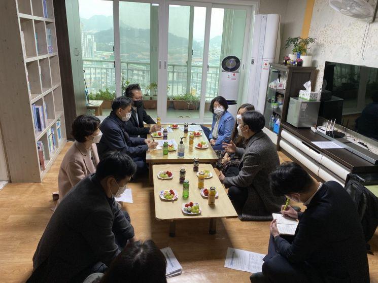 전남 서부권아동보호전문기관, 아동학대 제도 대응 간담회 진행