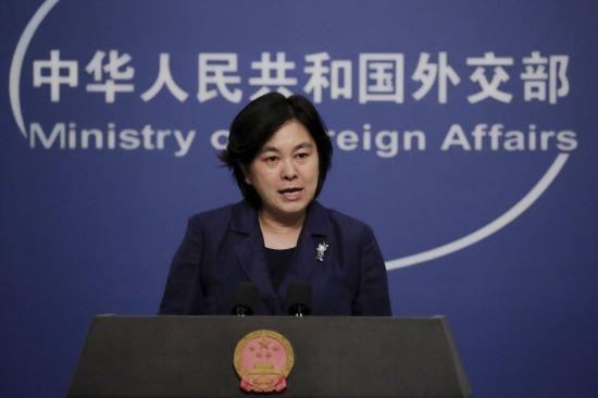 화춘잉 중국 외교부 대변인 [이미지출처=연합뉴스]