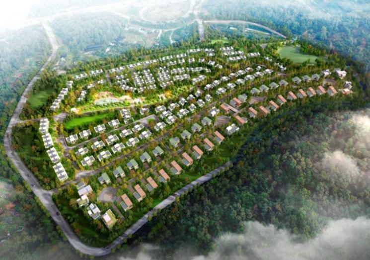 헌인마을 도시개발 사업 예상 조감도