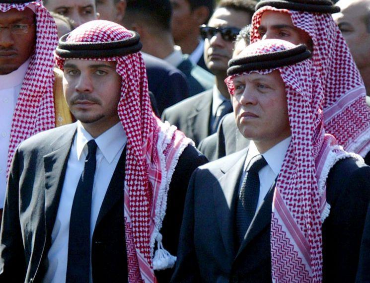 """요르단 """"왕의 동생이 이스라엘 모사드와의 결탁으로 반란을기도하다"""""""