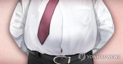 우리나라 성인 3명 중 1명은 비만인 것으로 나타났다. 비만은 고혈압, 당뇨병 등 다양한 성인병을 유발하는 원인 중 하나다. [이미지출처=연합뉴스]