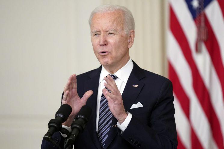 조 바이든 미국 대통령 [이미지출처=AP연합뉴스]