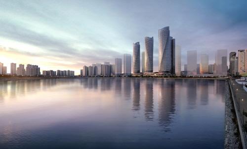 송도 국제업무단지(IBD) 인프라 누리는 '더샵 송도아크베이' 아파트·오피스텔·상업시설 분양 예정
