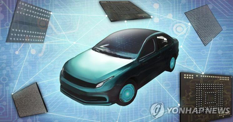 차량용 반도체인 'MCU'(마이크로컨트롤러유닛) 공급 부족 때문에 완성차 생산에 차질을 빚고 있다. / 사진=연합뉴스