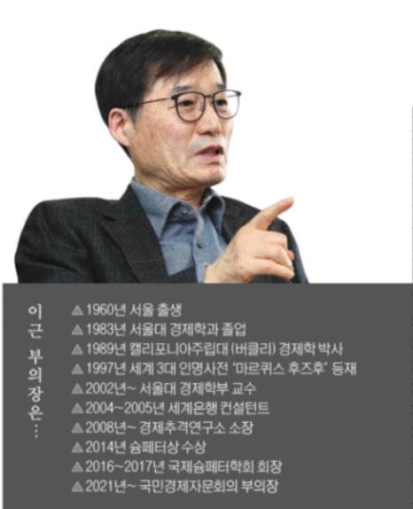 """이근 국민경제자문회의 부의장 """"韓, 복지국가 함정 경계해야""""(종합)"""