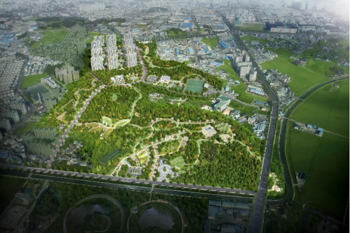 제일건설 등 브랜드 건설사들, 익산시 명품 도시 숲 조성지역에 숲세권 주거단지 조성 기대감 상승
