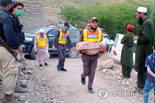 10년 전 실종된 광부 16명의 유골 발굴 현장 [이미지출처=연합뉴스]