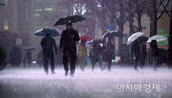 광주·전남 13일까지 강풍 동반 많은 비