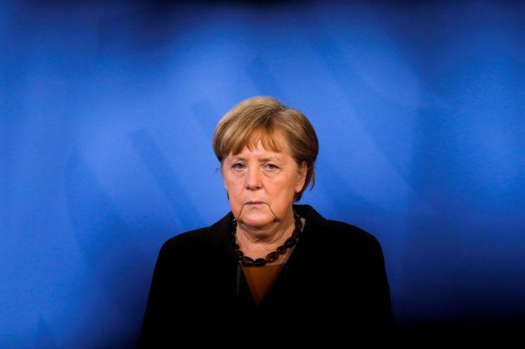 앙겔라 메르켈 독일 총리 [이미지출처=로이터연합뉴스]