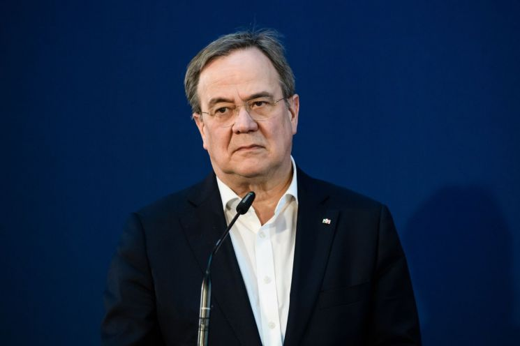 아르민 라셰트 기독민주연합(CDU) 대표 [이미지출처=EPA연합뉴스]