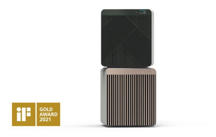 iF 디자인 어워드 금상을 수상한 비스포크 큐브 에어/사진=삼성전자