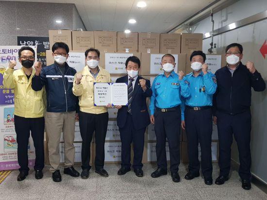 전남도, 택시기사·승객 안전 위한 '마스크 배부'