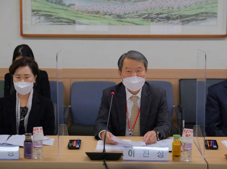 12일 열린 공수처 자문위원회에 참석한 이진성 위원장./공수처 제공