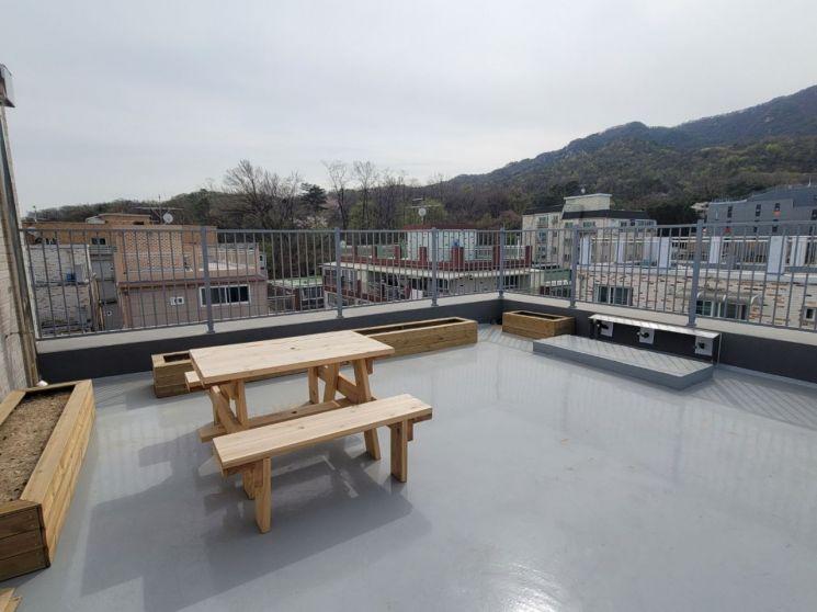 공동체주택 5차 옥상