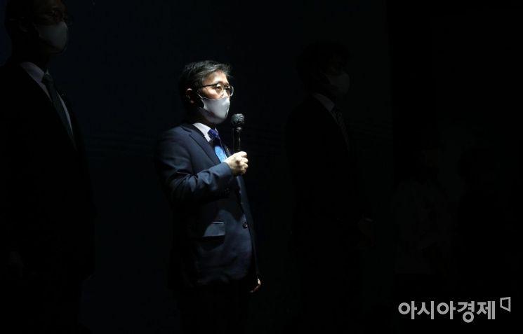 [포토] 안전 속도 5030 실천 선언하는 변창흠 장관