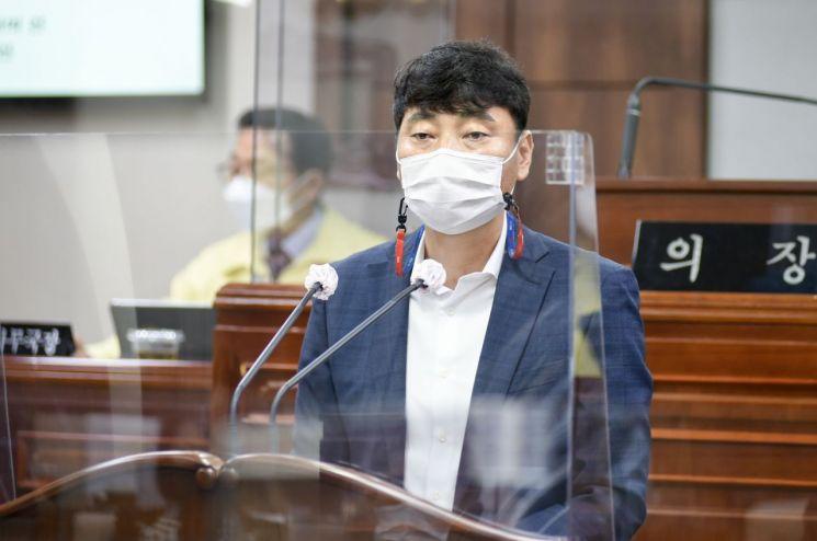 순천시의회 유영갑의원, 현대제철 불법파견 노동자 '정규직 전환 촉구