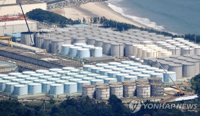 일본 후쿠시마 제1원전 오염수 탱크. /사진=연합뉴스