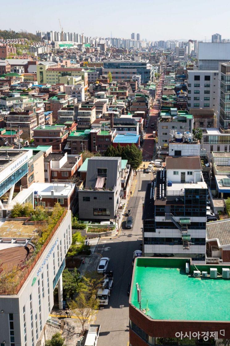 정부가 도심 공공주택 복합개발 사업 2차 후보지를 선정한 14일 후보지로 선정된 서울 강북구 미아역 인근 일반주거지역./강진형 기자 aymsdream@