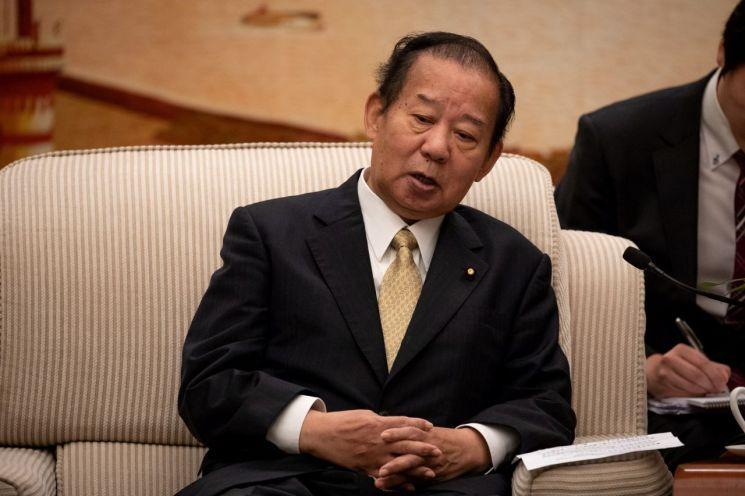 니카이 도시히로 일본 자민당 간사장 [이미지출처=연합뉴스]