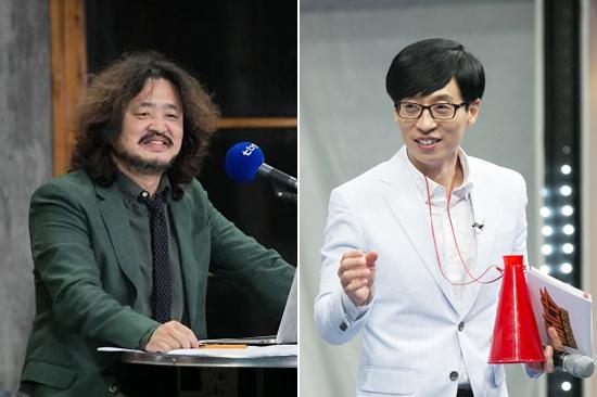 김어준과 유재석 [사진=TBS, JTBC 제공]