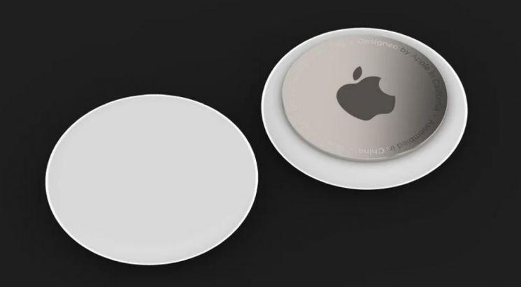 애플 에어태그의 예상 이미지 [출처: IT팁스터 존 프로서]