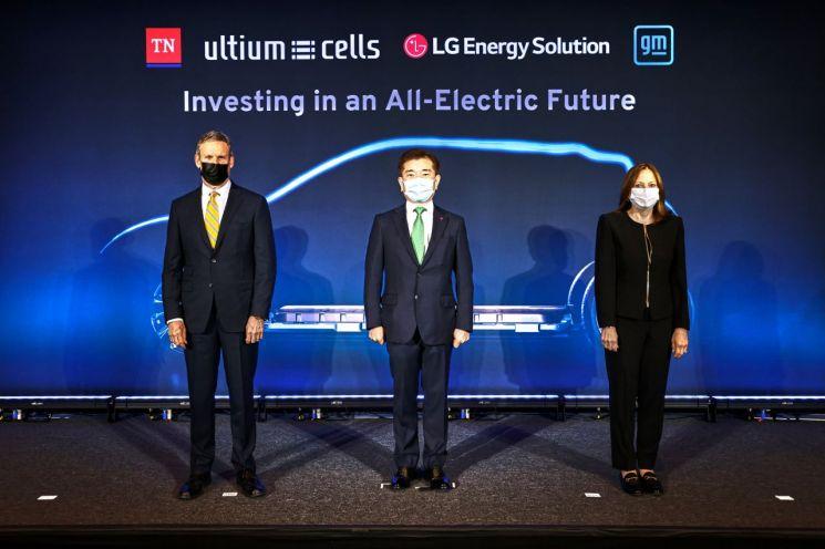 LG엔솔,  美 GM과 전기차 배터리 제2 합작공장 설립
