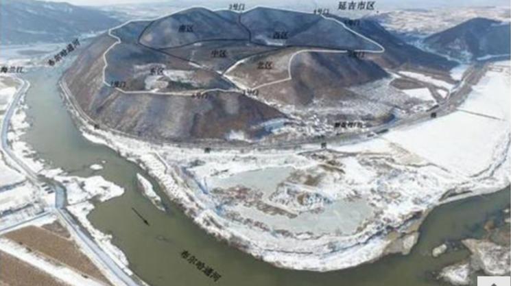 중국 지린성 투먼의 모판촌 산성 유적지. 사진=중국문물보 위챗
