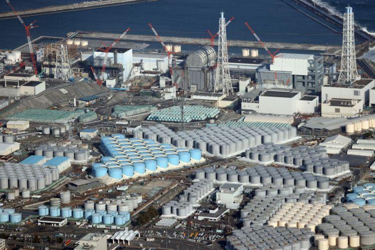 후쿠시마 원전 전경 [이미지출처=EPA연합뉴스]