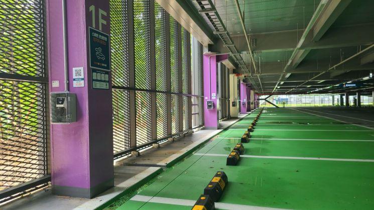아산병원 콘센트형 전기차 충전기