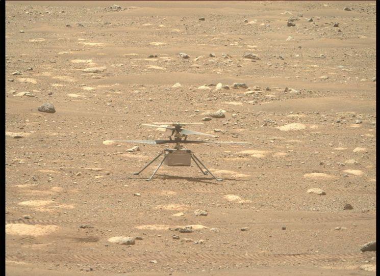 화성 탐사 헬기 인제뉴어티 [이미지출처=EPA연합뉴스]