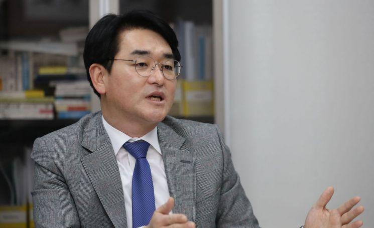 차기 대권 출마 의사를 밝힌 박용진 더불어민주당  의원 [이미지출처=연합뉴스]