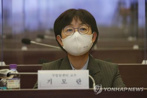 청와대 방역기획관에 임명된 기모란 국립암센터 교수./사진=연합뉴스