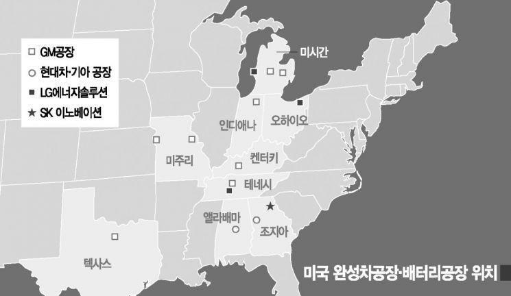 전기차 보급 확대에 불붙은 'K배터리' 유치 경쟁