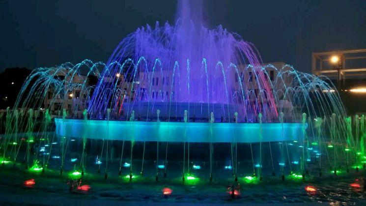 광주 동구, 오늘부터 5·18민주광장 분수대 가동 실시