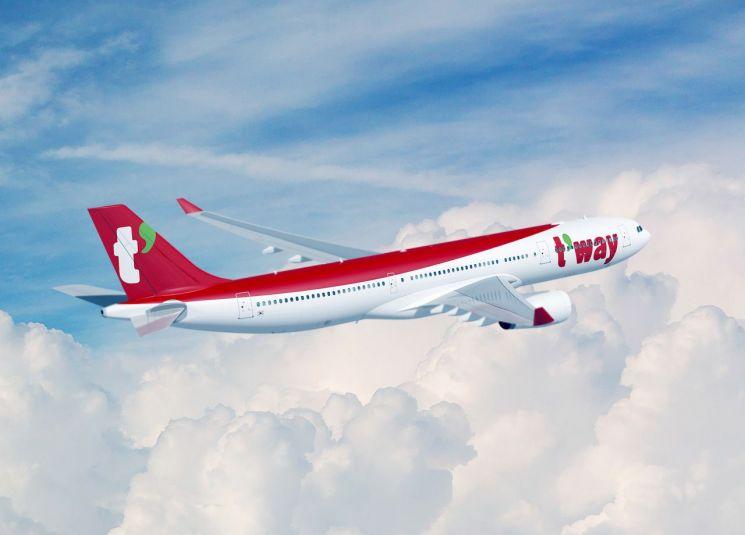 티웨이항공, 중대형 항공기 도입 본 계약 체결