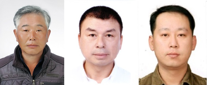 LG의인상 수상자 (왼쪽부터) 김기문, 박영만, 허원석 씨/사진=LG