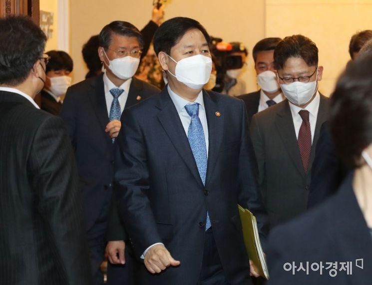 [포토] 국무회의 참석하는 구윤철 국무조정실장
