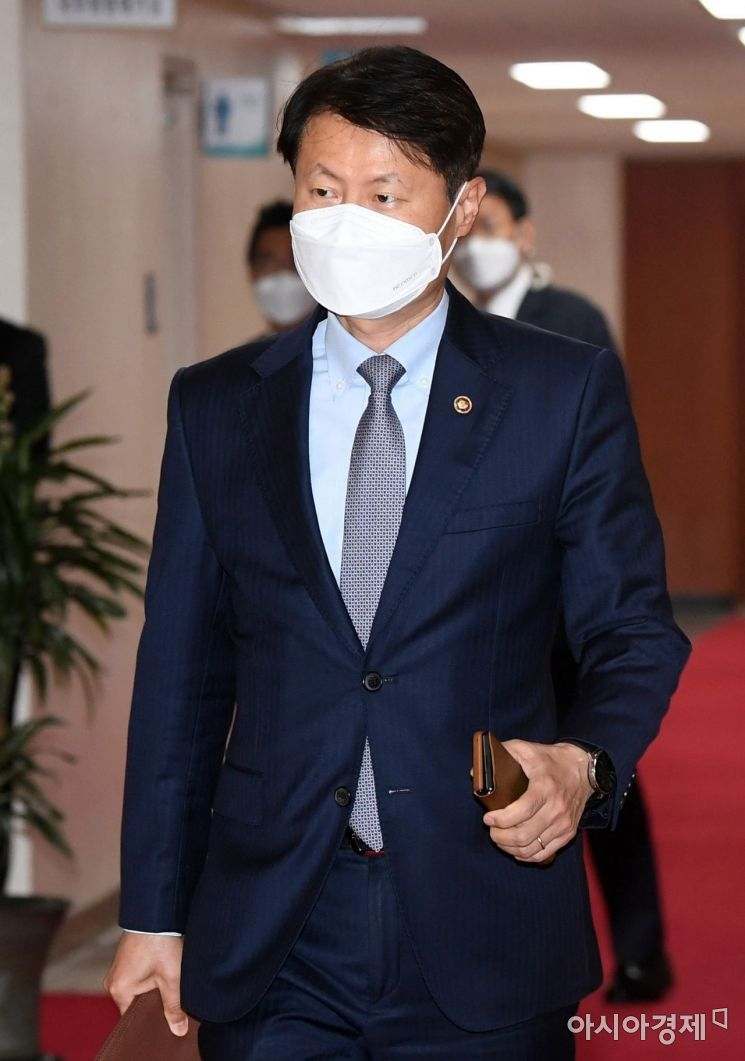 [포토] 국무회의 참석하는 김강립 식약처장