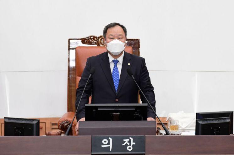 김인호 의장 서울시의회 제300회 임시회 개회사