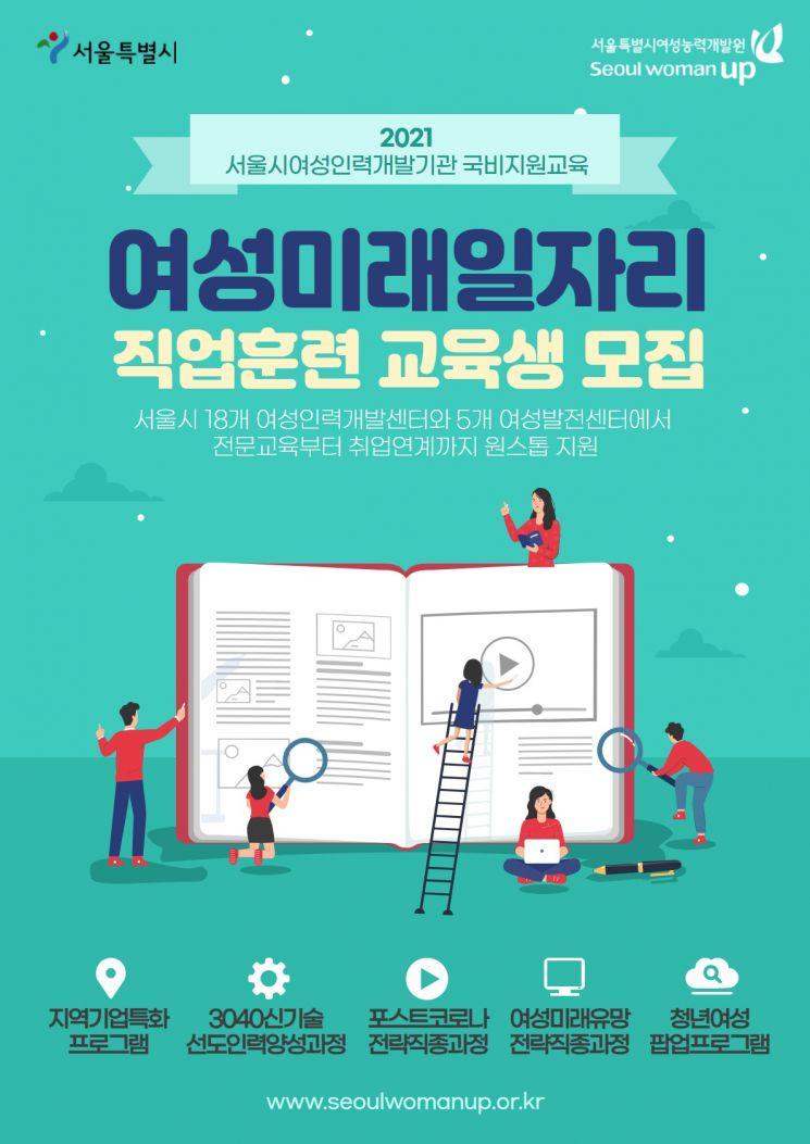 서울시, 25가지 여성미래일자리 교육 지원… 476명 모집
